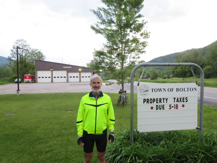 Jeff at Bolton Volunteer Fire Department